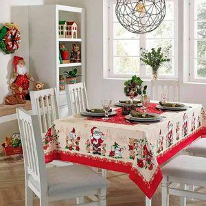 Mantel de Navidad Papá Noel II