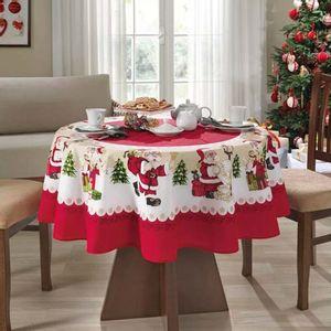 Mantel de Navidad Papá Noel