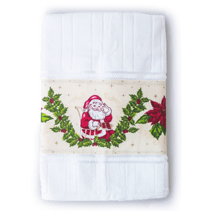 Toalla Navidad Patchwork Papá Noel