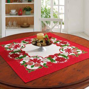 Carpeta Decorativa de Navidad Poinsetias
